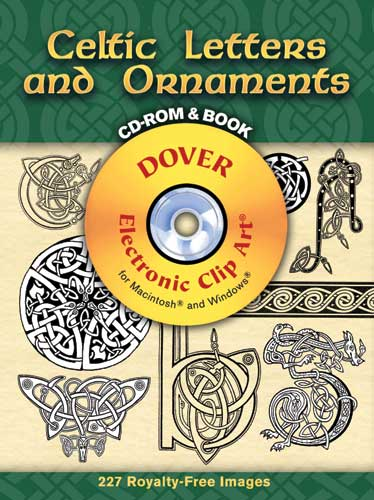 Celtic Letters and Ornaments CD-ROM and Book