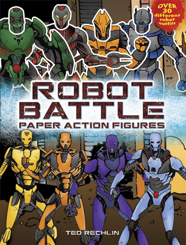Robot Battle Paper Action Figures