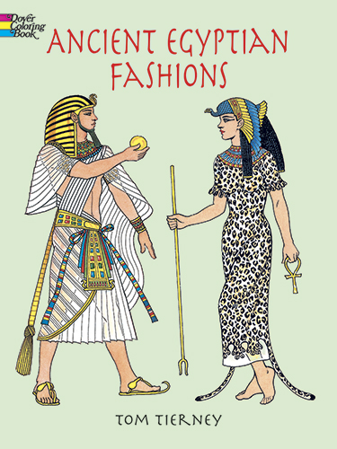 Ancient Egyptian Fashions Coloring Book