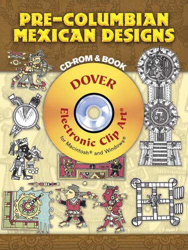 Pre-Columbian Mexican Designs CD-ROM and Book
