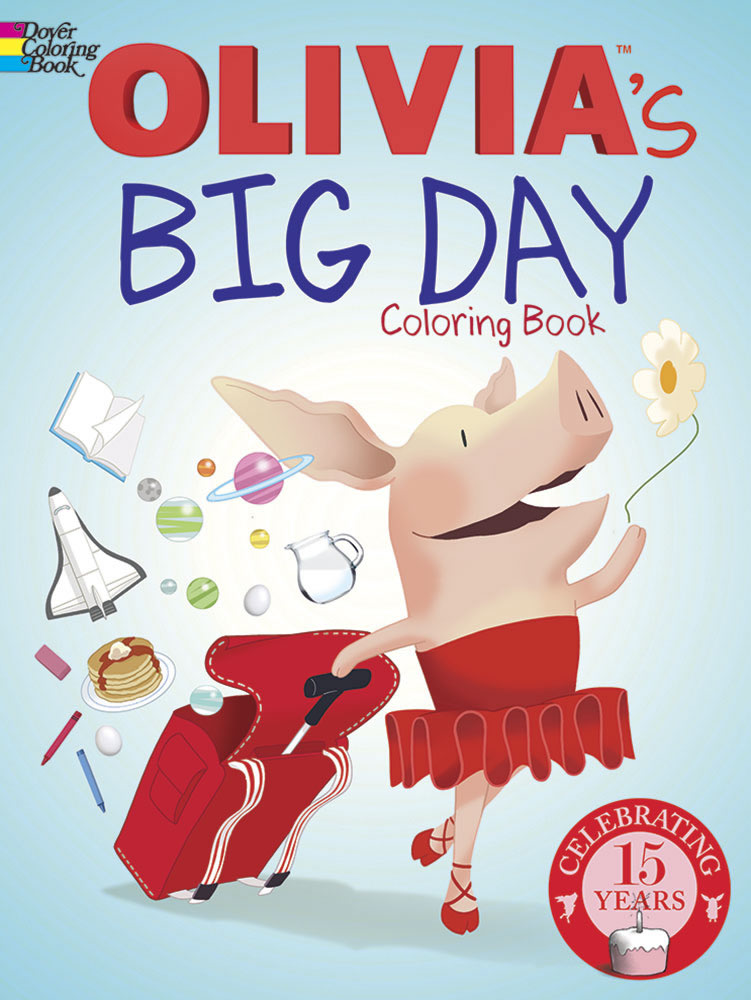 Olivia's Big Day Coloring Book