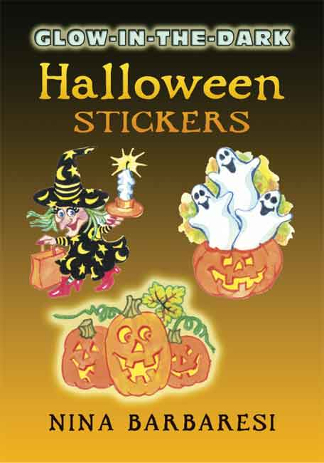 Glow-in-the-Dark Halloween Stickers