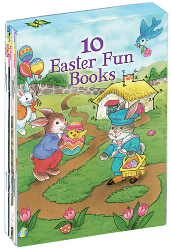 10 Easter Fun Books: Stickers, Stencils, Tattoos and More