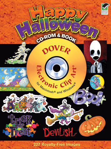Happy Halloween CD-ROM and Book