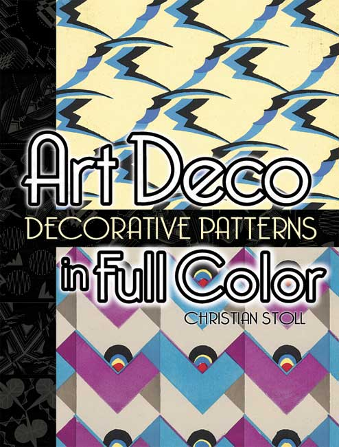 Art Deco Decorative Patterns in Full Color