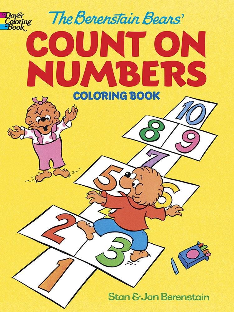 The Berenstain Bears' Count on Numbers Coloring Book