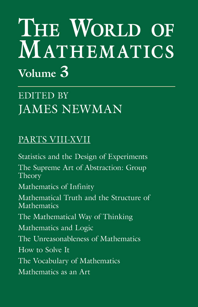 The World of Mathematics, Vol. 3