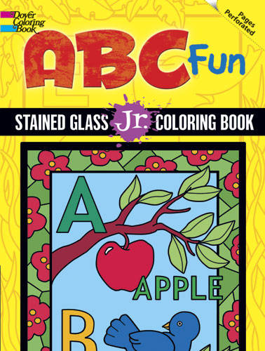 ABC Fun Stained Glass Jr. Coloring Book