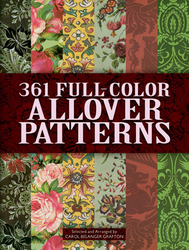 361 Full-Color Allover Patterns for Artists and Craftspeople