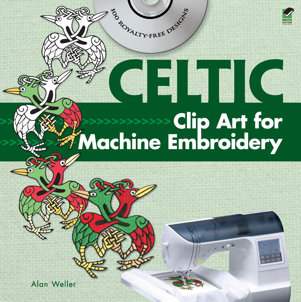 Celtic Clip Art for Machine Embroidery