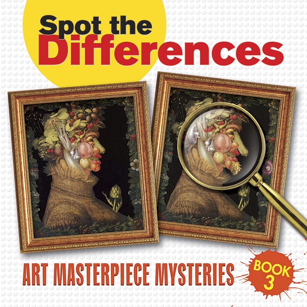 Spot the Differences Book 3: Art Masterpiece Mysteries