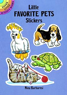 Little Favorite Pets Stickers