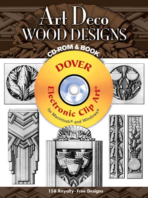 Art Deco Wood Designs CD-ROM and Book