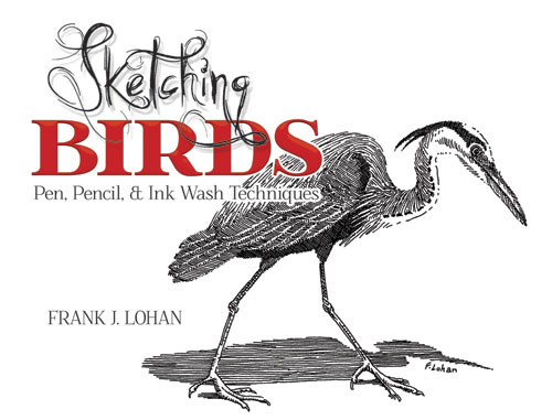 Sketching Birds: Pen, Pencil, and Ink Wash Techniques