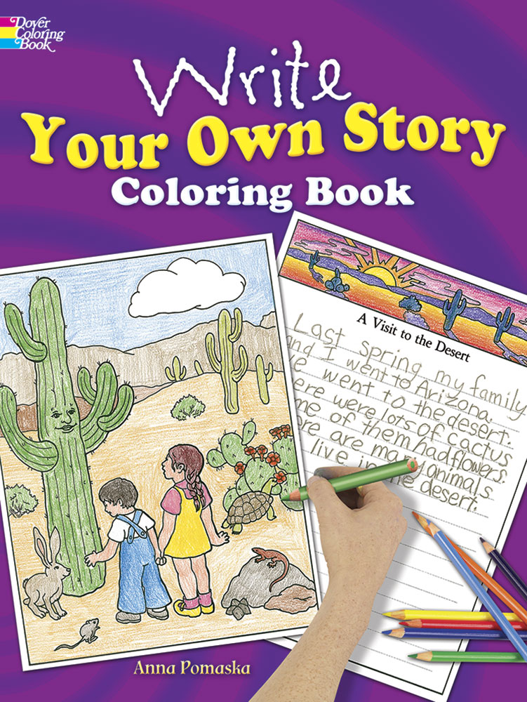 Write Your Own Story Coloring Book