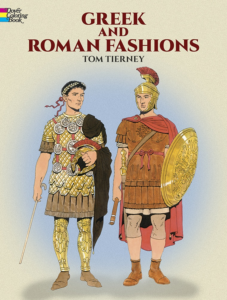 Greek and Roman Fashions Coloring Book