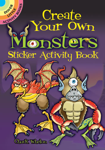 Create Your Own Monsters Sticker Activity Book