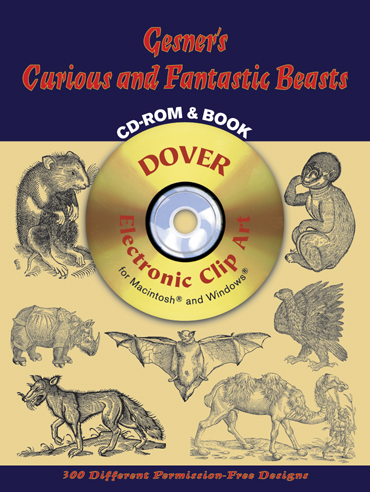 Gesner's Curious and Fantastic Beasts CD-ROM and Book