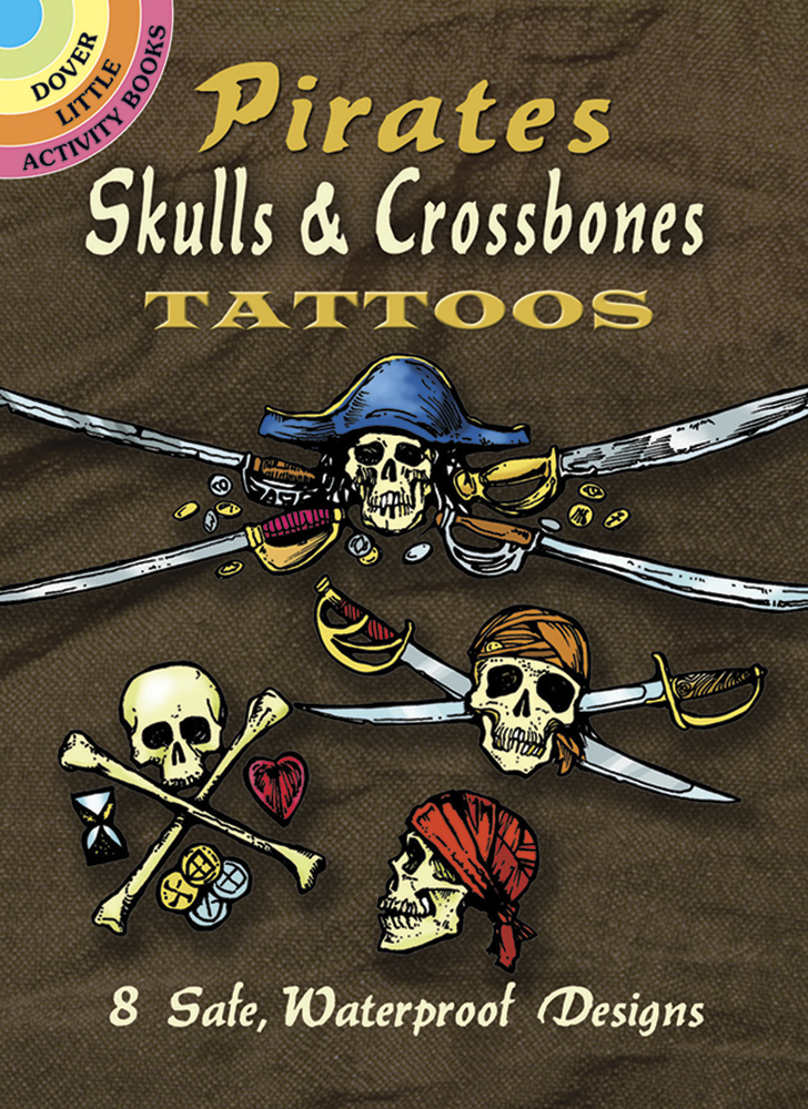 Pirate Skulls & Crossbones Tattoos