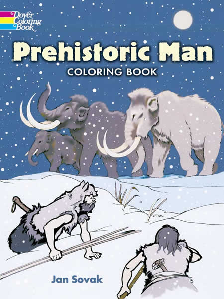 Prehistoric Man Coloring Book