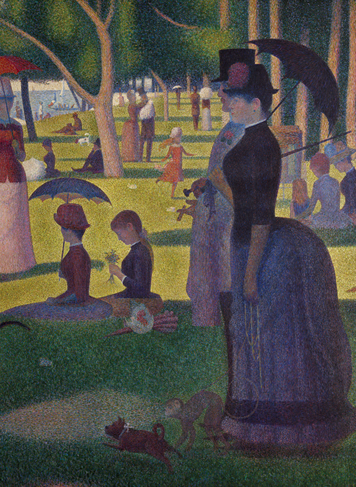 A Sunday Afternoon on the Island of La Grande Jatte Notebook