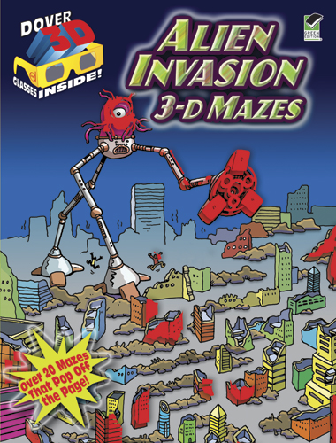 3-D Mazes--Alien Invasion