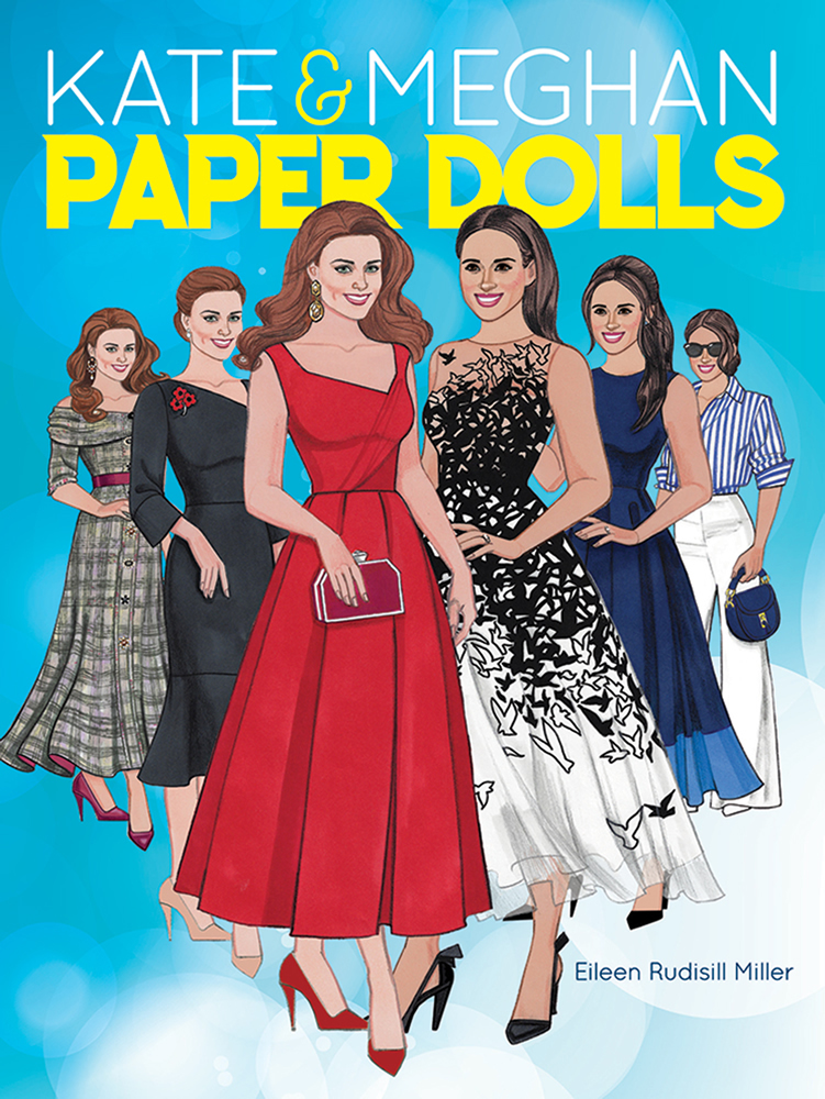 Kate and Meghan Paper Dolls