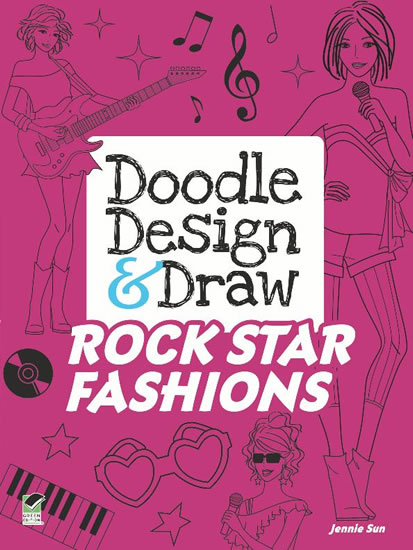 Doodle Design & Draw ROCK STAR FASHIONS