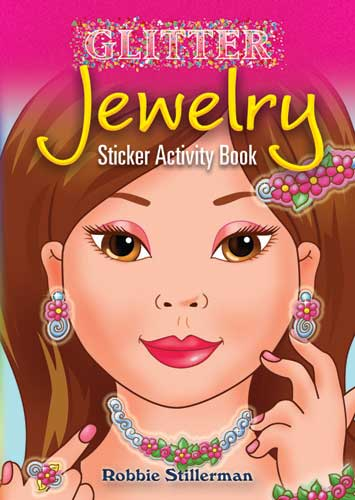 Glitter Jewelry Sticker Activity Book