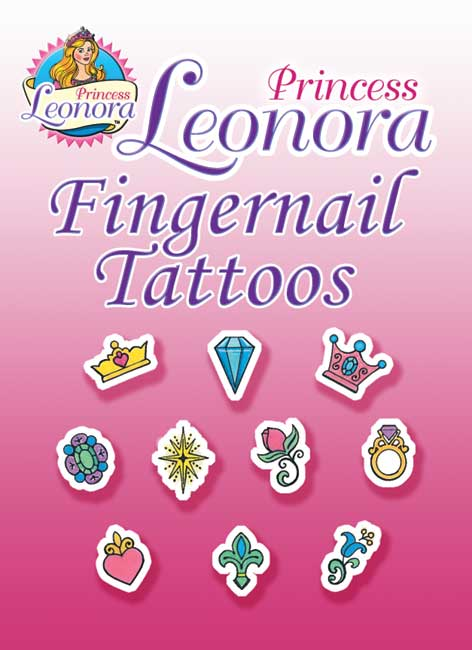 Princess Leonora Fingernail Tattoos