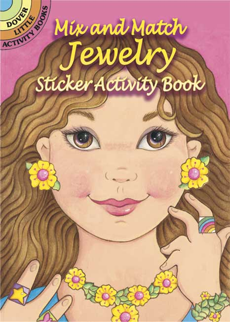 Mix and Match Jewelry Sticker Activity Book