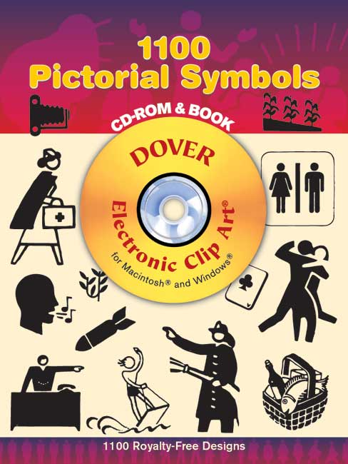 1100 Pictorial Symbols CD-ROM and Book