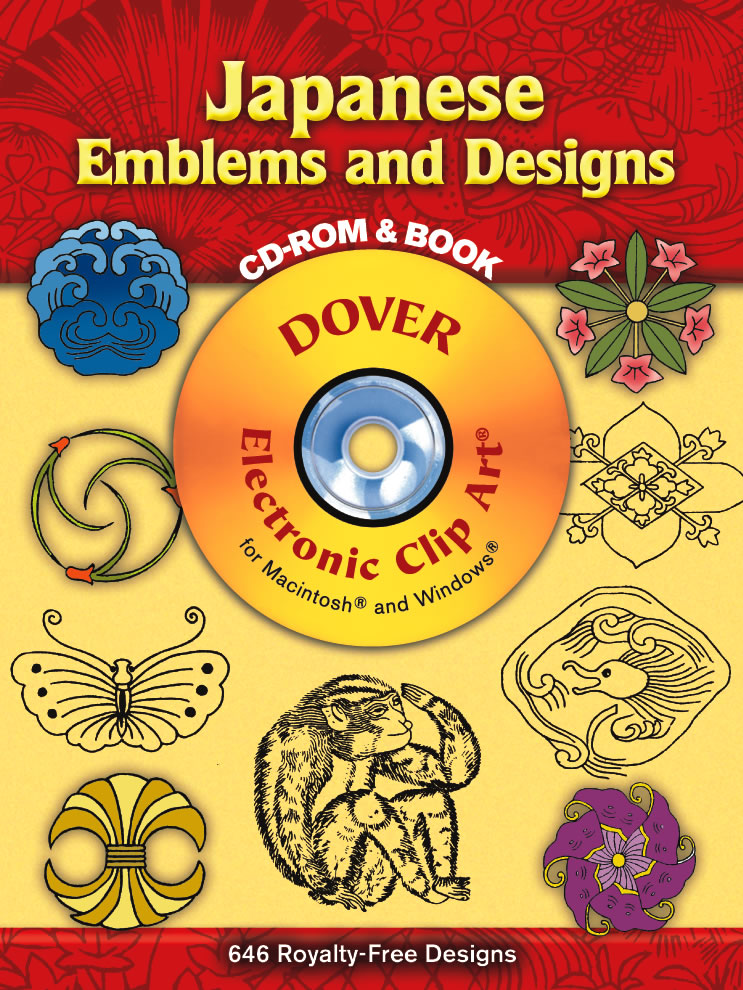 Japanese Emblems and Designs CD-ROM and Book