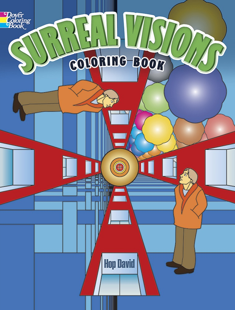 Surreal Visions Coloring Book