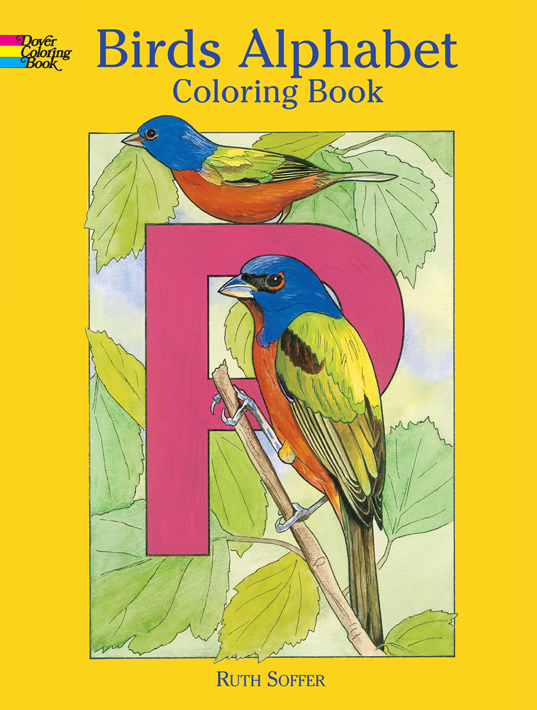 Birds Alphabet Coloring Book