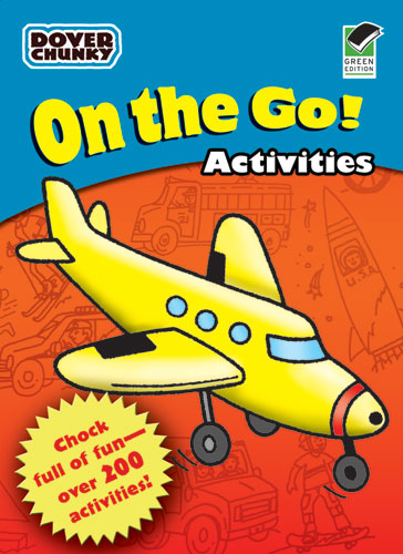 On the Go Activities Dover Chunky Book