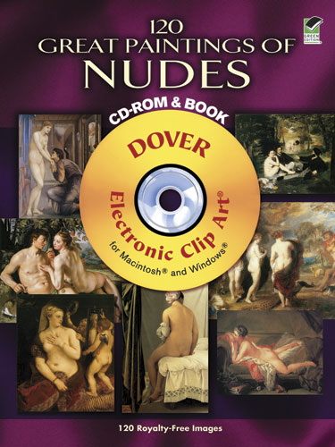 120 Great Paintings of Nudes CD-ROM and Book
