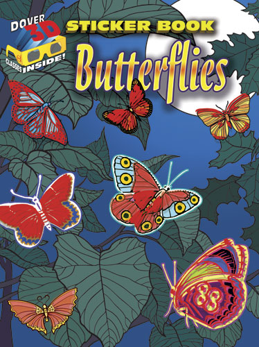 3-D Sticker Book--Butterflies