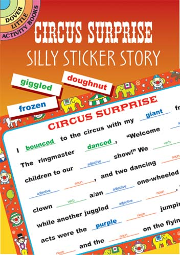 Circus Surprise: Silly Sticker Story