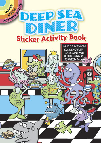 Deep Sea Diner Sticker Activity Book