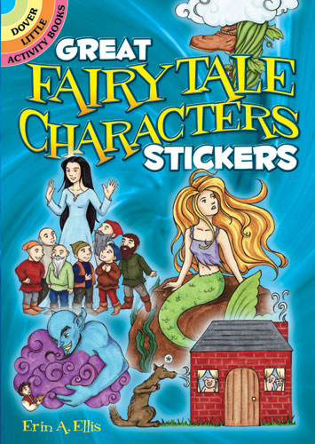 Great Fairy Tale Characters Stickers