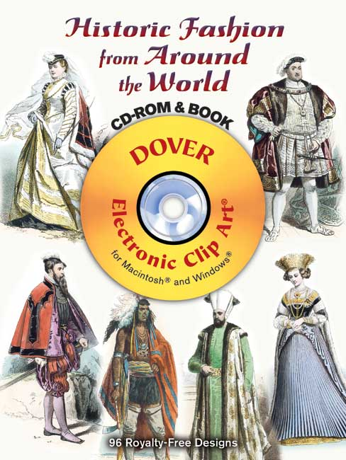 Historic Fashion from Around the World CD-ROM and Book
