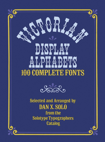 Victorian Display Alphabets
