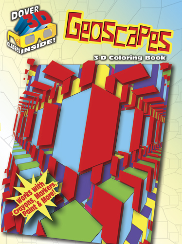 3-D Coloring Book--Geoscapes