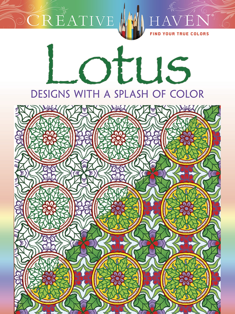 Creative Haven Lotus: Designs with a Splash of Color