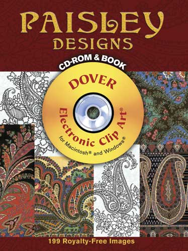 Paisley Designs CD-ROM and Book