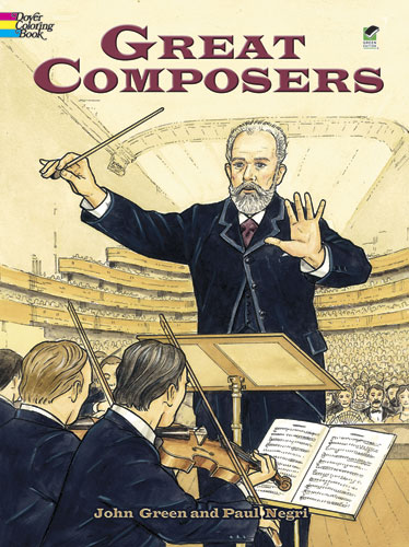 Great Composers Coloring Book
