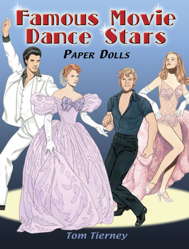 Famous Movie Dance Stars Paper Dolls