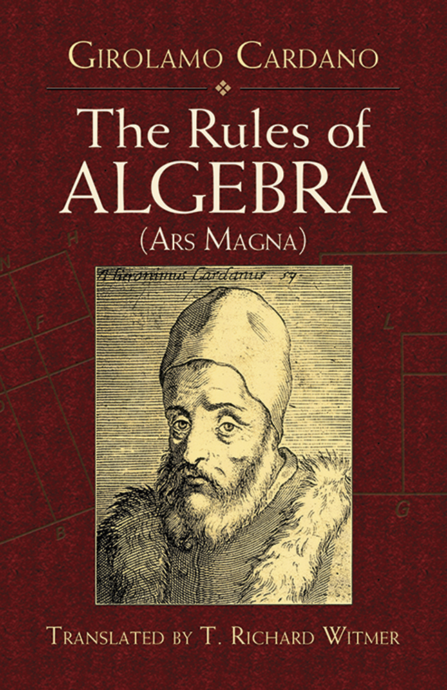 The Rules of Algebra: (Ars Magna)
