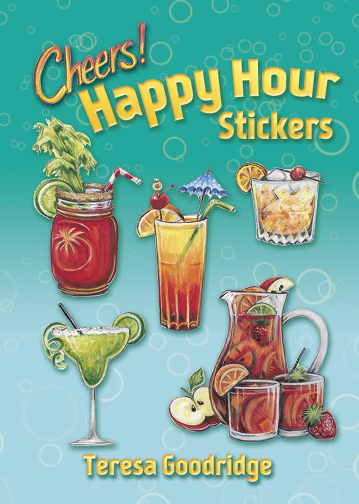 Happy Hour Stickers